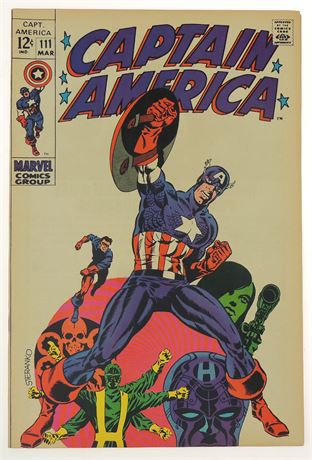 Captain America #111 VF 1965
