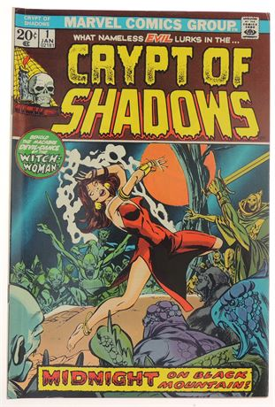 Crypt of Shadows #1 F/VF 1973