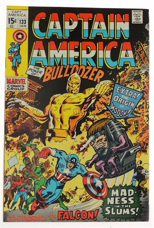 Captain America #133 F/VF 1971