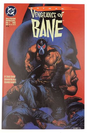 Batman: Vengeance of Bane Special #1 VF/NM 1993