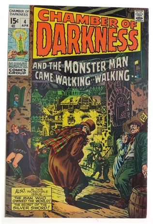 Chamber of Darkness #4 VF- 1970