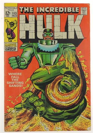 Incredible Hulk #113 FN- 1969
