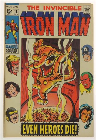 Iron Man #18 F/VF 1969