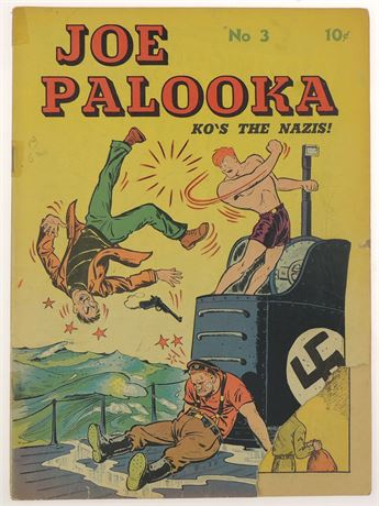 Joe Palooka #3 GD+ 1943