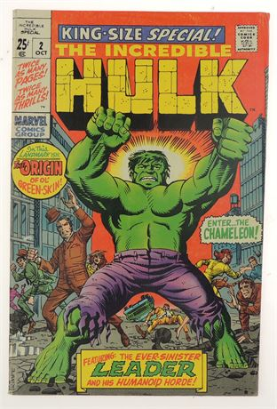 Incredible Hulk Special #2 FN 1969