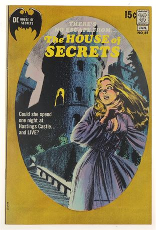 House of Secrets #89 F/VF 1970/71