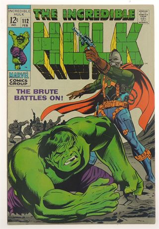 Incredible Hulk #112 FN+ 1969