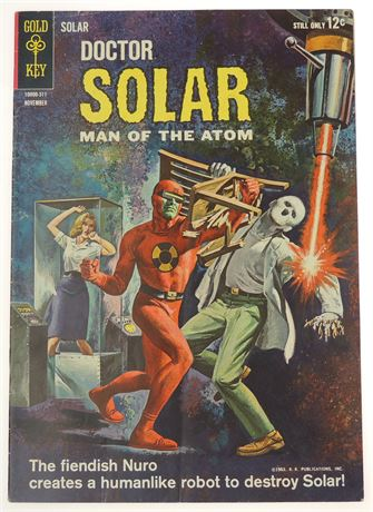 Doctor Solar, Man of The Atom #6 FN 1963