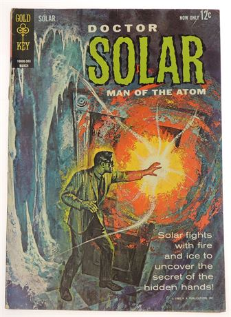 Doctor Solar, Man of The Atom #3 VG/F 1963
