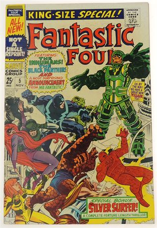 Fantastic Four Special #5 VG 1967