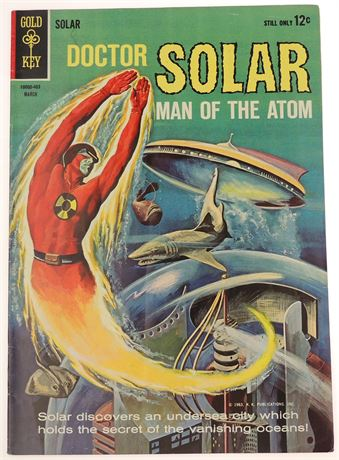 Doctor Solar, Man of The Atom #7 VG/F 1964